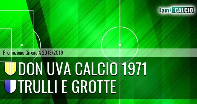 Don Uva Calcio 1971 - Trulli e Grotte