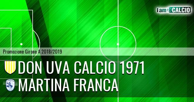 Don Uva Calcio 1971 - Martina Calcio 1947