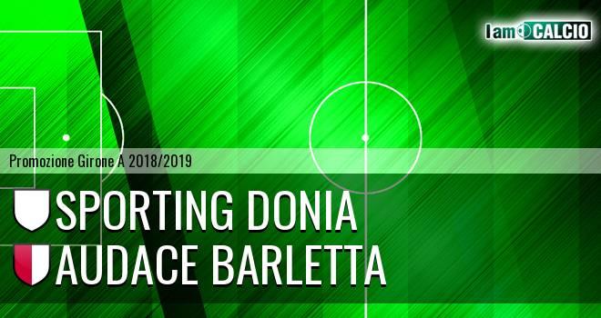 Sporting Donia - Audace Barletta