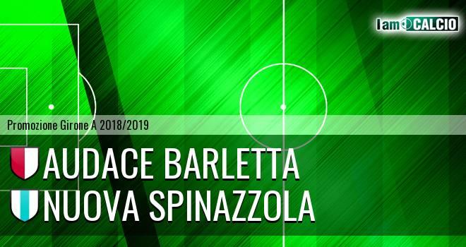 Audace Barletta - Nuova Spinazzola