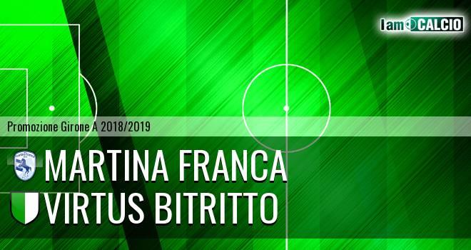 Martina Calcio 1947 - Vigor Bitritto