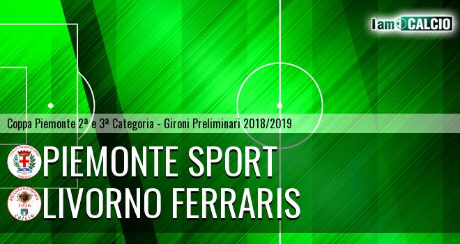 Piemonte Sport - Livorno Ferraris
