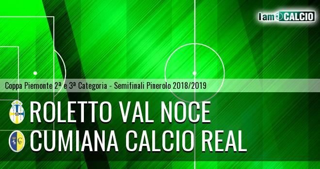 Roletto Val Noce - Cumiana Calcio Real