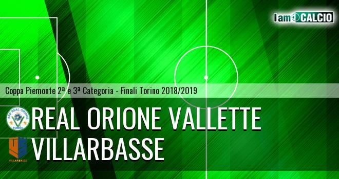 Real Orione Vallette - Villarbasse
