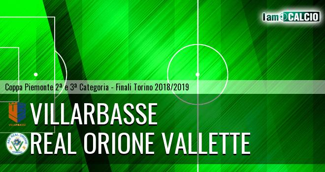 Villarbasse - Real Orione Vallette