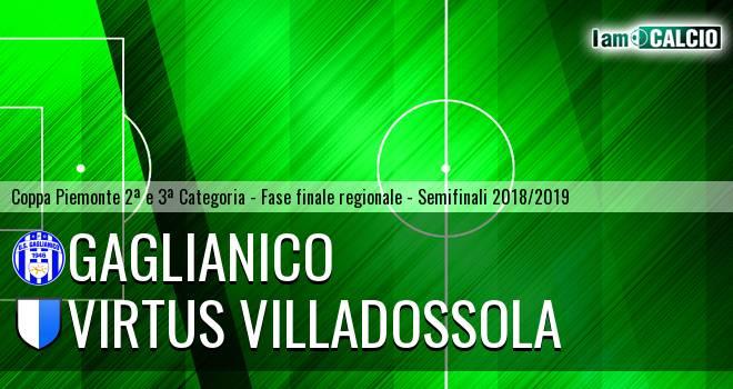 Gaglianico - Virtus Villadossola