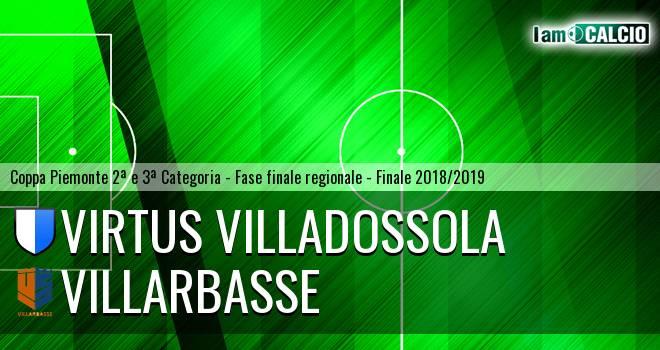 Virtus Villadossola - Villarbasse