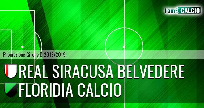 Real Siracusa Belvedere - Floridia Calcio