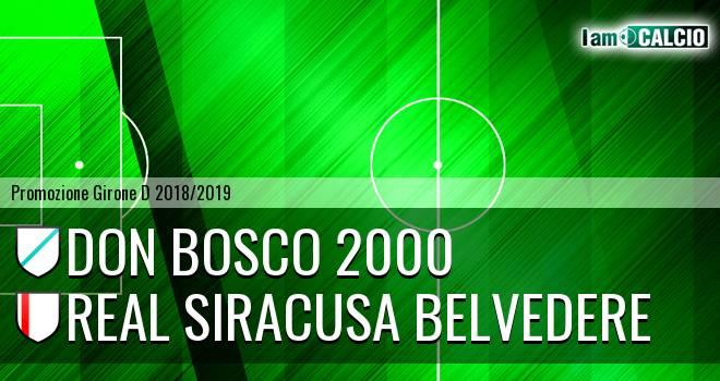 Don Bosco 2000 - Real Siracusa Belvedere
