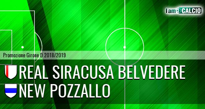 Real Siracusa Belvedere - New Pozzallo