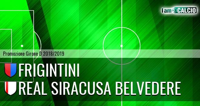 Frigintini - Real Siracusa Belvedere