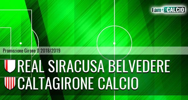 Real Siracusa Belvedere - Caltagirone Calcio