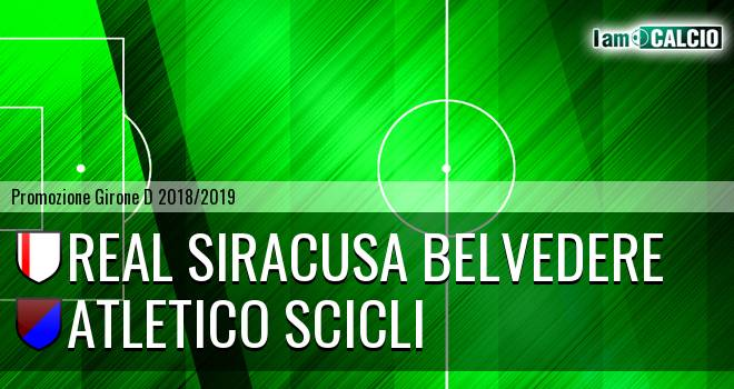 Real Siracusa Belvedere - Atletico Scicli