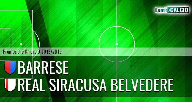 Barrese - Real Siracusa Belvedere