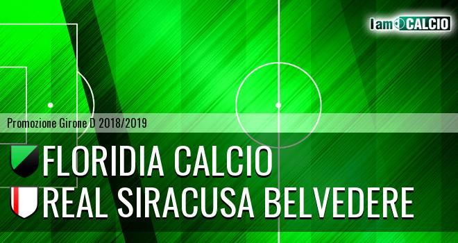 Floridia Calcio - Real Siracusa Belvedere