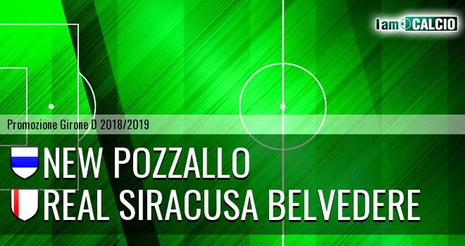 New Pozzallo - Real Siracusa Belvedere