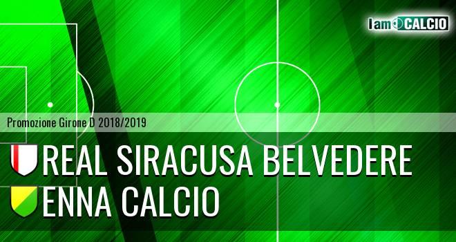 Real Siracusa Belvedere - Enna Calcio