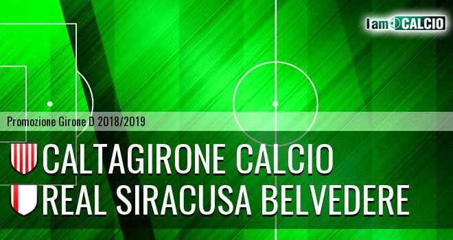 Caltagirone Calcio - Real Siracusa Belvedere