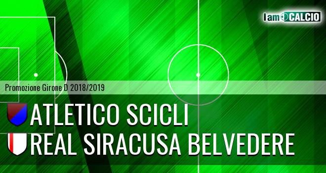 Atletico Scicli - Real Siracusa Belvedere