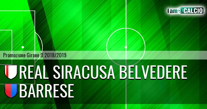 Real Siracusa Belvedere - Barrese