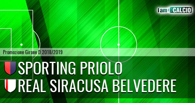 Climiti FC San Paolo Priolo - Real Siracusa Belvedere