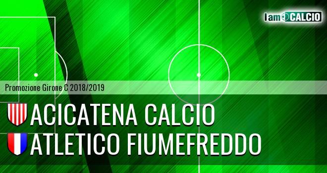 Acicatena Calcio - Atletico Fiumefreddo
