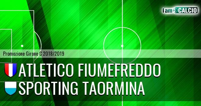 Atletico Fiumefreddo - Sporting Taormina