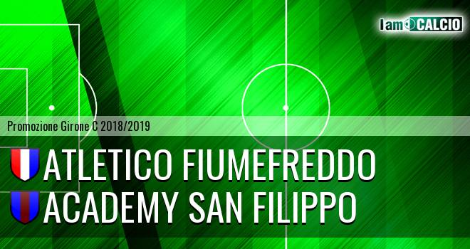 Atletico Fiumefreddo - Academy San Filippo