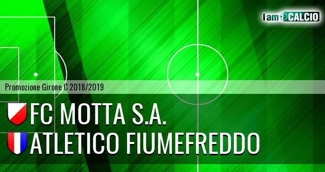 FC Motta 2011 - Atletico Fiumefreddo