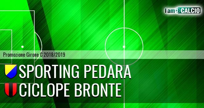 Sporting Pedara - Ciclope Bronte