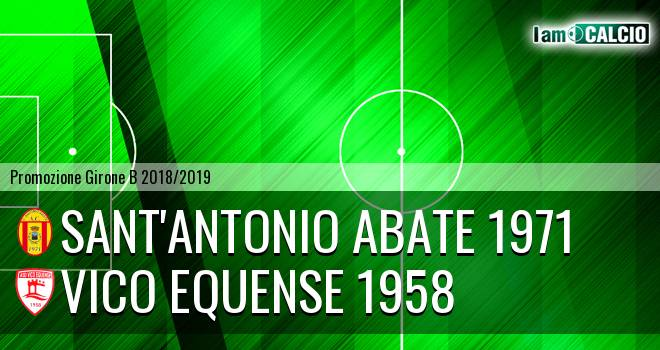 Sant'Antonio Abate 1971 - Vico Equense 1958