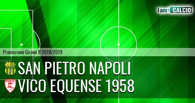 San Pietro Napoli - Vico Equense 1958