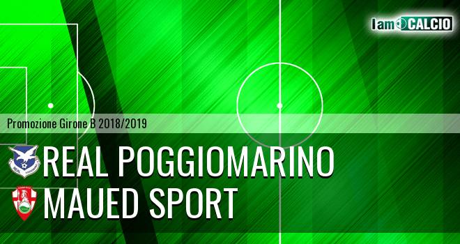 Real Poggiomarino - Maued Sport