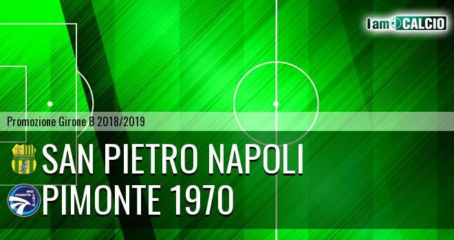 San Pietro Napoli - Pimonte 1970