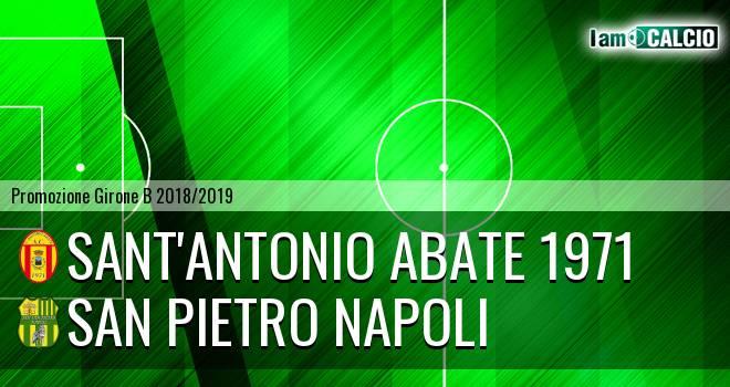 Sant'Antonio Abate 1971 - San Pietro Napoli