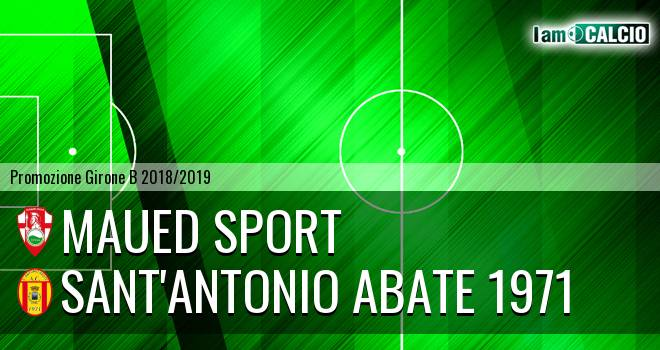Maued Sport - Sant'Antonio Abate 1971