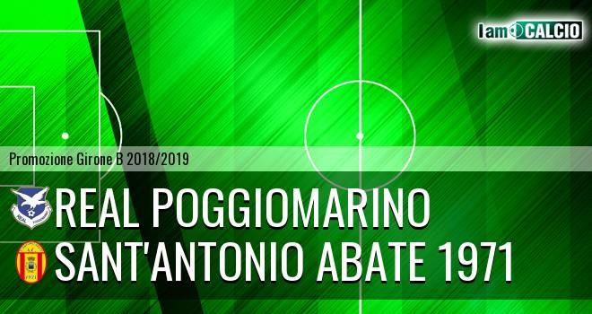 Real Poggiomarino - Sant'Antonio Abate 1971