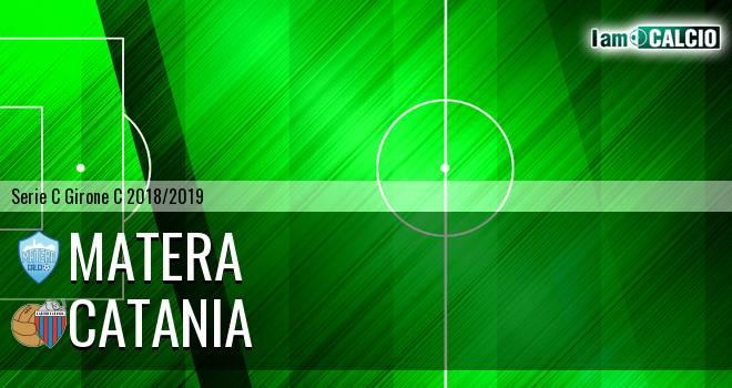 Matera - Catania