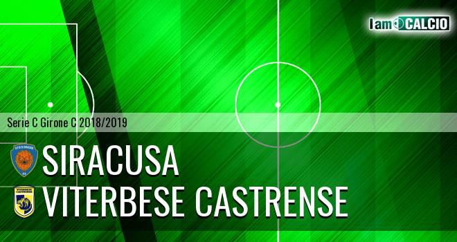 Siracusa - Viterbese Castrense