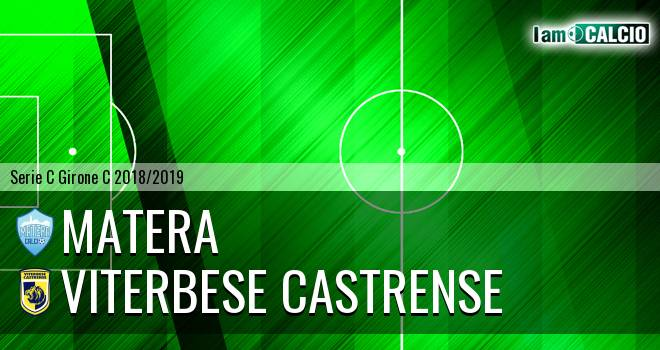 Matera - Viterbese Castrense