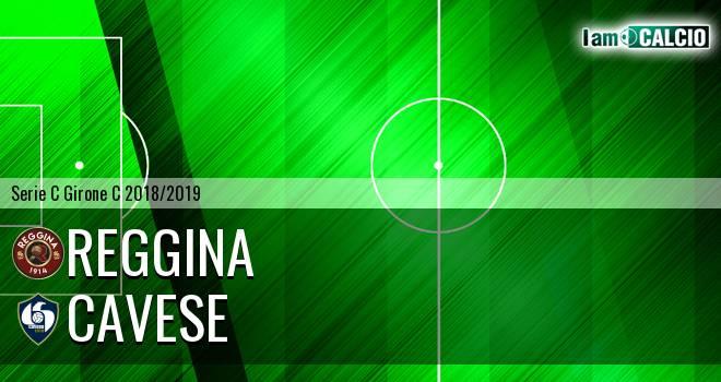 Reggina - Cavese 0-3. Cronaca Diretta 12/12/2018
