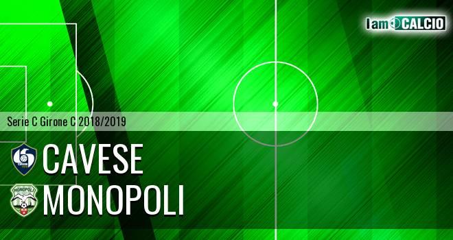 Cavese - Monopoli 1-1. Cronaca Diretta 16/12/2018