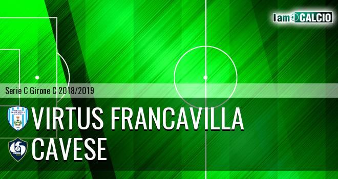 Virtus Francavilla - Cavese 2-0. Cronaca Diretta 20/01/2019