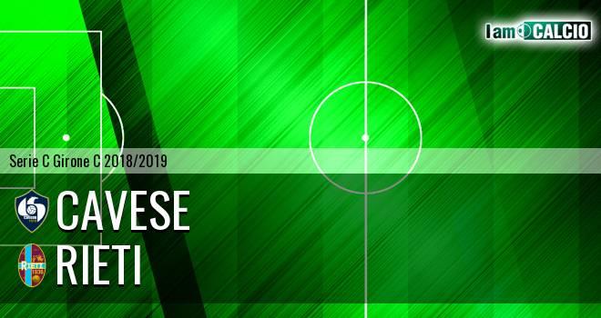 Cavese - Rieti 1-1. Cronaca Diretta 28/01/2019