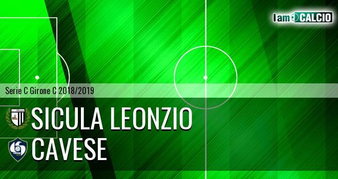 Sicula Leonzio - Cavese 2-3. Cronaca Diretta 03/02/2019