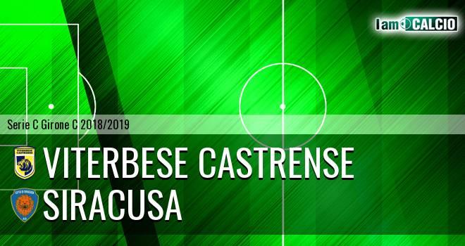 Viterbese Castrense - Siracusa