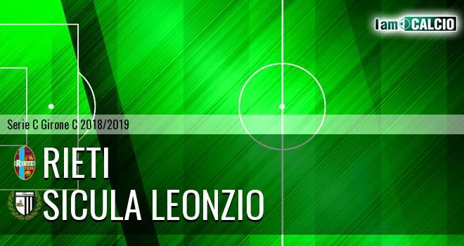 Rieti - Sicula Leonzio