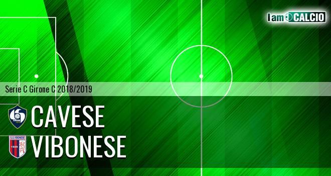 Cavese - Vibonese 0-0. Cronaca Diretta 10/02/2019