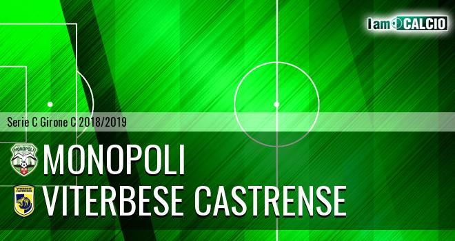 Monopoli - Viterbese Castrense