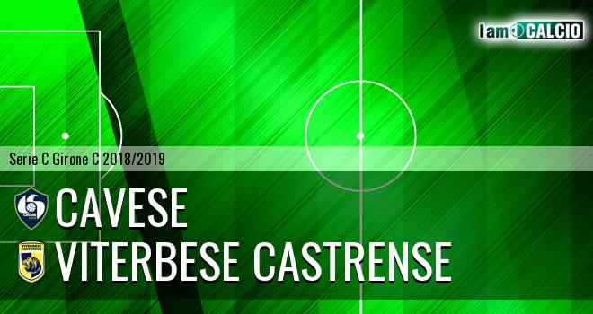 Cavese - Viterbese Castrense 1-1. Cronaca Diretta 17/02/2019